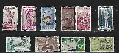 ITALY, lot of 10 used old and very old stamps , see scan