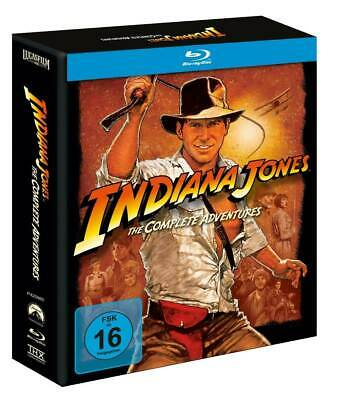Indiana Jones - The Complete Adventures - Blu-Ray Box - Teil 1+2+3+4