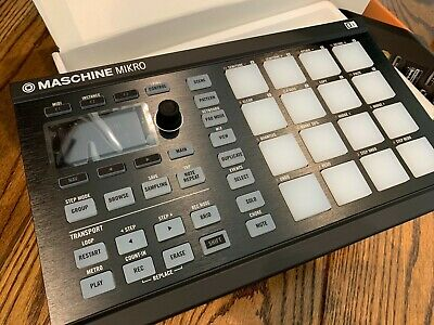Native Instruments Maschine Mikro MK2 Black : Great Condition :  Software & Box