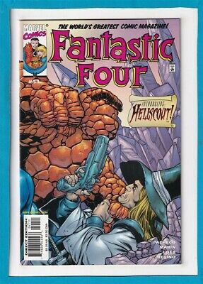 Fantastic Four #41_May 2001_Very Fine+_The Thing_Human Torch_Hellscout!