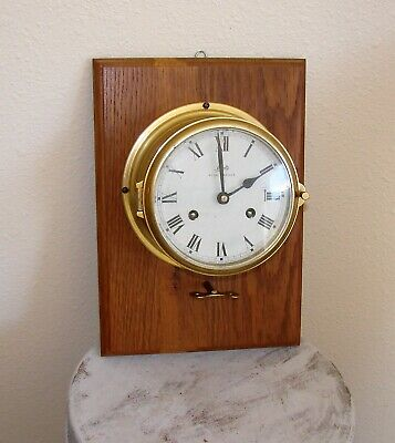 Schatz Royal Mariner Clock Made In West Germany