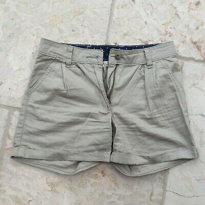 Girl's Light Brown GAP Tailored 100% Cotton Chino Shorts (Age 10-11)