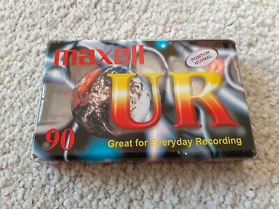 Maxell UR 90min Position Normal IEC Type I. EQ 120 us. NEW & SEALED