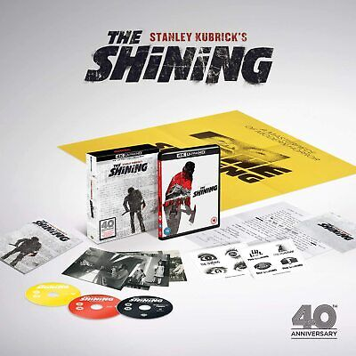 The Shining Special Edition 40th Anniversary 4K Blu ray NEW & SEALED + Poster