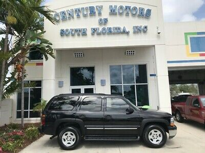 2004 Chevrolet Tahoe  Rear Barn Swing Doors Tow Package and Trailer Hitch Alloy Wheels