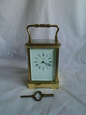 Large L'epee Timepiece Carriage Clock In Good Working Order With Key