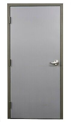 BRAND NEW Steel Fire Rated Entry Doors, All Sizes