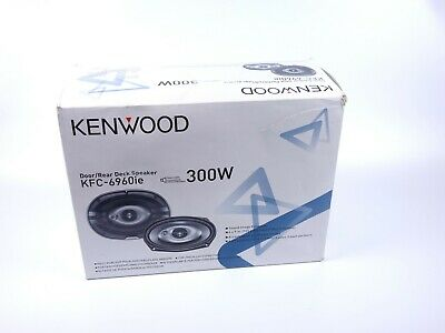 "KENWOOD KFC-6960ie 300W 7X9"" CAR SPEAKERS"