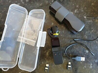 DJI OSMO POCKET 3 Axis Gimbal Tripod Stabilised Handheld Integrated Bundle MINT