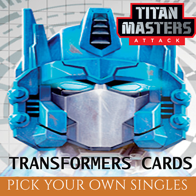 Wave 5 Character Cards: Titan Masters Attack (Transformers TCG Singles)