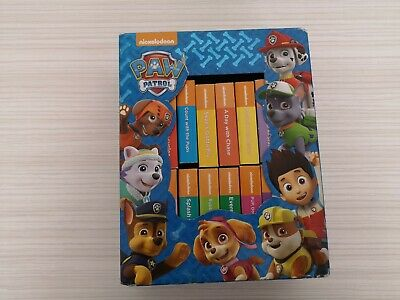 Paw Patrol Box Of childrens baby picture Board Books x 12