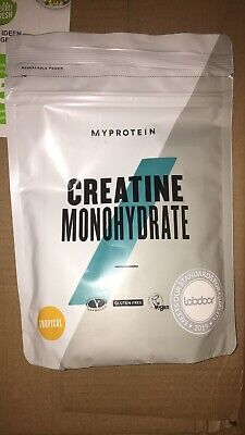 BRAND NEW UNOPENED My Protein Creatine Monohydrate powder 250g TROPICAL flavour