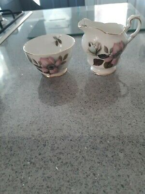 Bone China Milk Jug And Sugar bowl