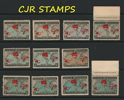 CANADA 1898 - #85-#86  2c IMPERIAL PENNY POSTAGE MINT LOT - Cat $400+  VERY NICE