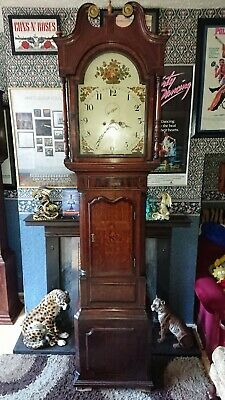 longcase grandfather clock working order