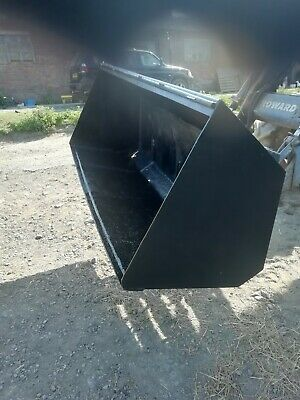 "tractor front loader bucket 6' 6"" on Matbro Brackets"