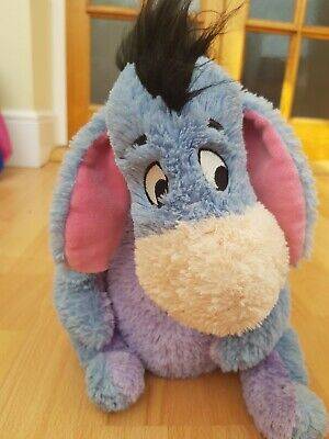Disney Store Winnie The Pooh Eeyore Plush Teddy Soft Toy Exclusive and Authentic