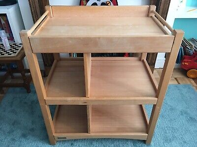 Used Wooden mamas and papas Changing Table