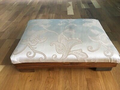 ANTIQUE FOOT STOOL - Upholstery Project.