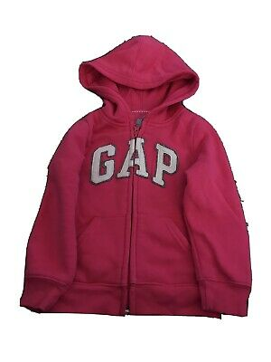 Girls Pink Gap Hoody Age 3 Years