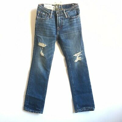 Abercrombie Kids Jeans Slim Straight Size 8 Years Old New With Tags