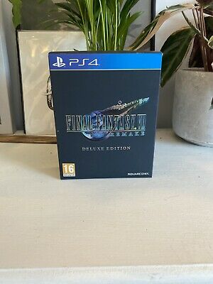 Final Fantasy VII Remake Deluxe Edition PS4 7 PlayStation 4 Art Book Game