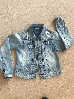 Next Girls Denim Jacket Age 11 Years