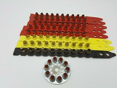 HILTI 6.8/11 M ASSORTED GUN CARTRIDGES / SHOTS / CAPS FOR DX460 88 pcs