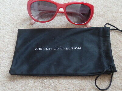 Womens/Girls French Connection Sunglasses In Red Colour in good condition