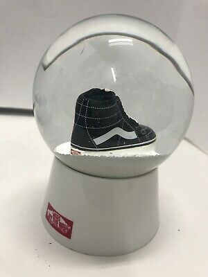 Vans Off The Wall Snow Globe Snowdome Collectible SK8 Hi Limited Edition No Box