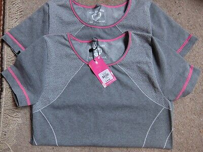 Primark Girls Sports T-shirts x 2.  Brand new.  Age 13 Years