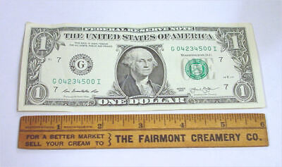 6 Inch Antique Wood Ruler-The Fairmont Creamery Co.
