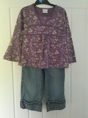 Girls Jeans & Tunic Top Outfit Age 4-5 Yrs Next