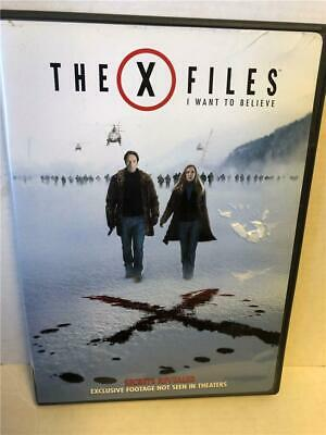 The X-Files: I Want to Believe (DVD, 2009, Widescreen)