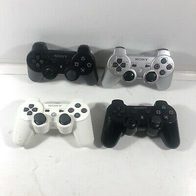Lot of 4 - SONY Playstation 3 PS3 Dualshock 3 Sixaxis Wireless Controller
