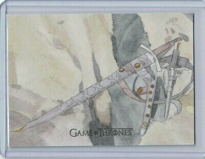Game of Thrones Inflexions Sketch Card by Roy Cover 1/1 - Rittenhouse