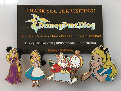 Disney's Alice in Wonderland Pin Set. DPB Limited Edition of 200. Rapunzel Pin