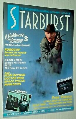 Starburst Magazine 111 Nov 1987