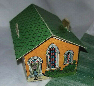 1940's Erie Baking company Toy town 10 Buildings