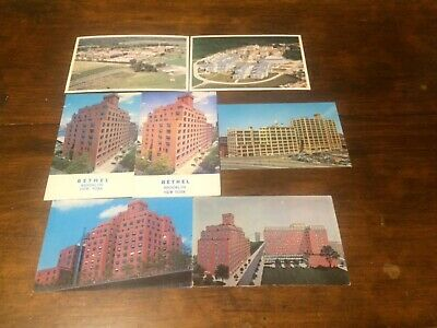 Watchtower 7 Original Postcards Jehovah's Witnesses IBSA Bethel - Printing Plant