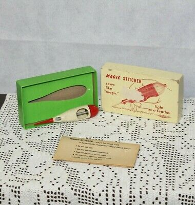 Vintage Magic Stitcher Sews Like Magic in Original Box with Directions Albin Ent