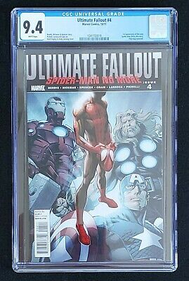 Ultimate Fallout 4 Cgc 9.4 Marvel Spider-Man First Appearance Of Miles Morales