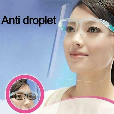 Kitchen Cooking Anti-Oil Anti-fog Splash Face Cover Face Protector Eye W7R5