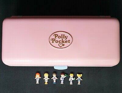 COMPLETE! 1989 Vintage Polly Pocket - Pool Party Variation - Bluebird Toys RARE!