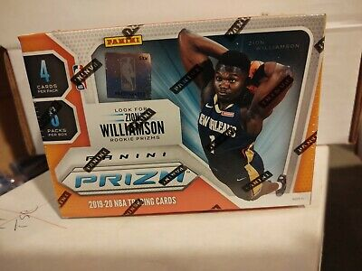 2019/20 PANINI PRIZM BASKETBALL 6-PACK BLASTER BOX - ZION Rookie Card ? Parallel