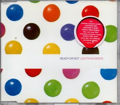 Lightning Seeds - Ready Or Not - 1995 3 Track Cd Single 1