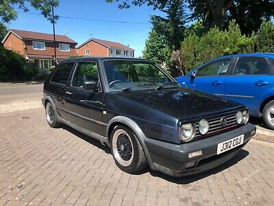 1991 Volkswagen Mk2 Gti 8V Royal Blue **Project**Drive Away**