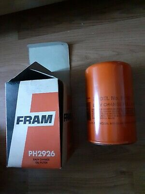 Fiesta Oil Filter FRAM2926