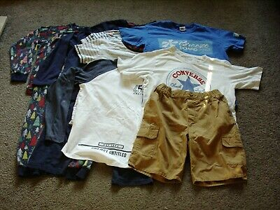 Job Lot Bundle Boys Clothes Age 12 13 Years Yrs Levis Converse Breeze Board Pro