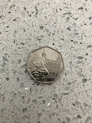 Paddington Bear At The Tower Of London 50p Coin UNCIRCULATED From Minted Bag New